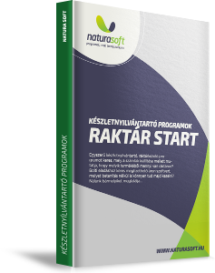 NATURASOFT Raktár Start raktárkezelő program