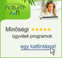 Minőségi NATURASOFT ügyviteli szoftverek